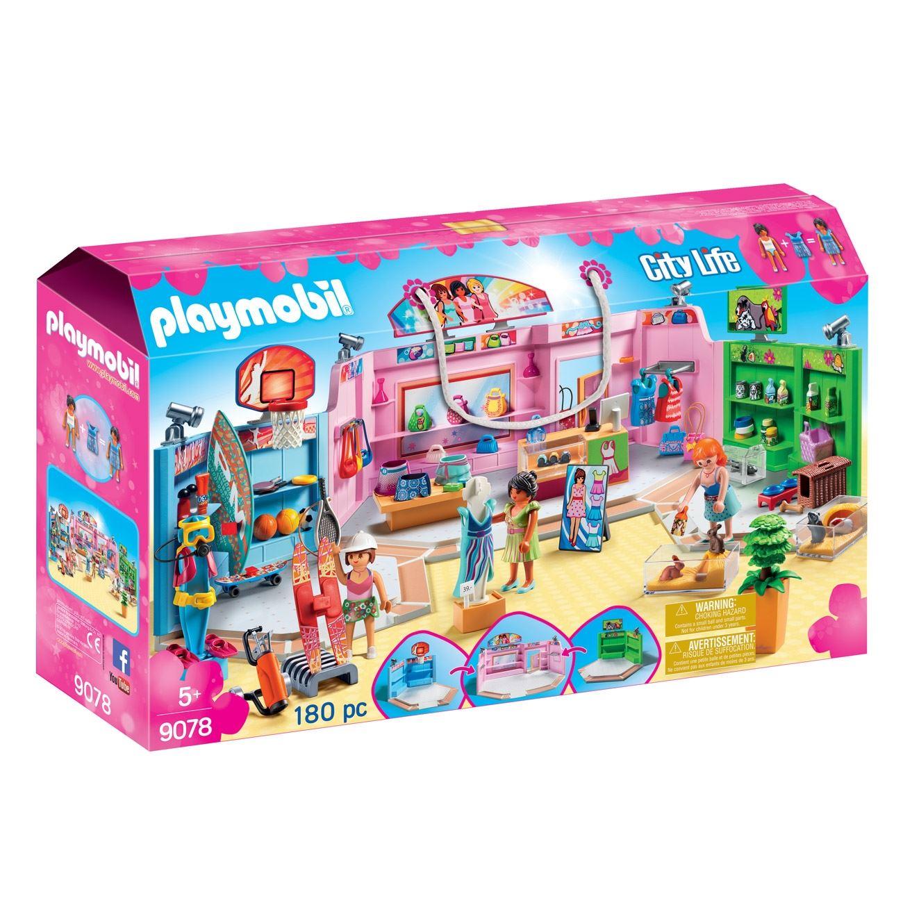f95697fd90a2 PLM Εμπορικό Κέντρο   Playmobil Εμπορικό Κέντρο