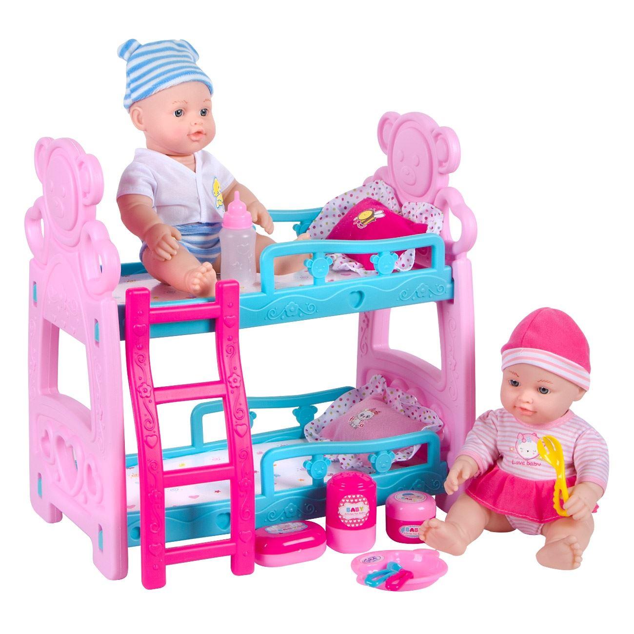 869e4fccac5 Κρεβατάκι Κουκέτα με 2 Μωρά & Αξεσουάρ < Σετ Μωρά | Jumbo