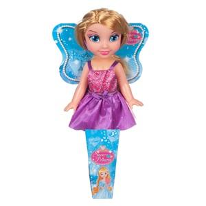 33060005489f Κούκλα Πριγκίπισσα Του Χιονιού με Μωβ Φόρεμα 30 εκ.