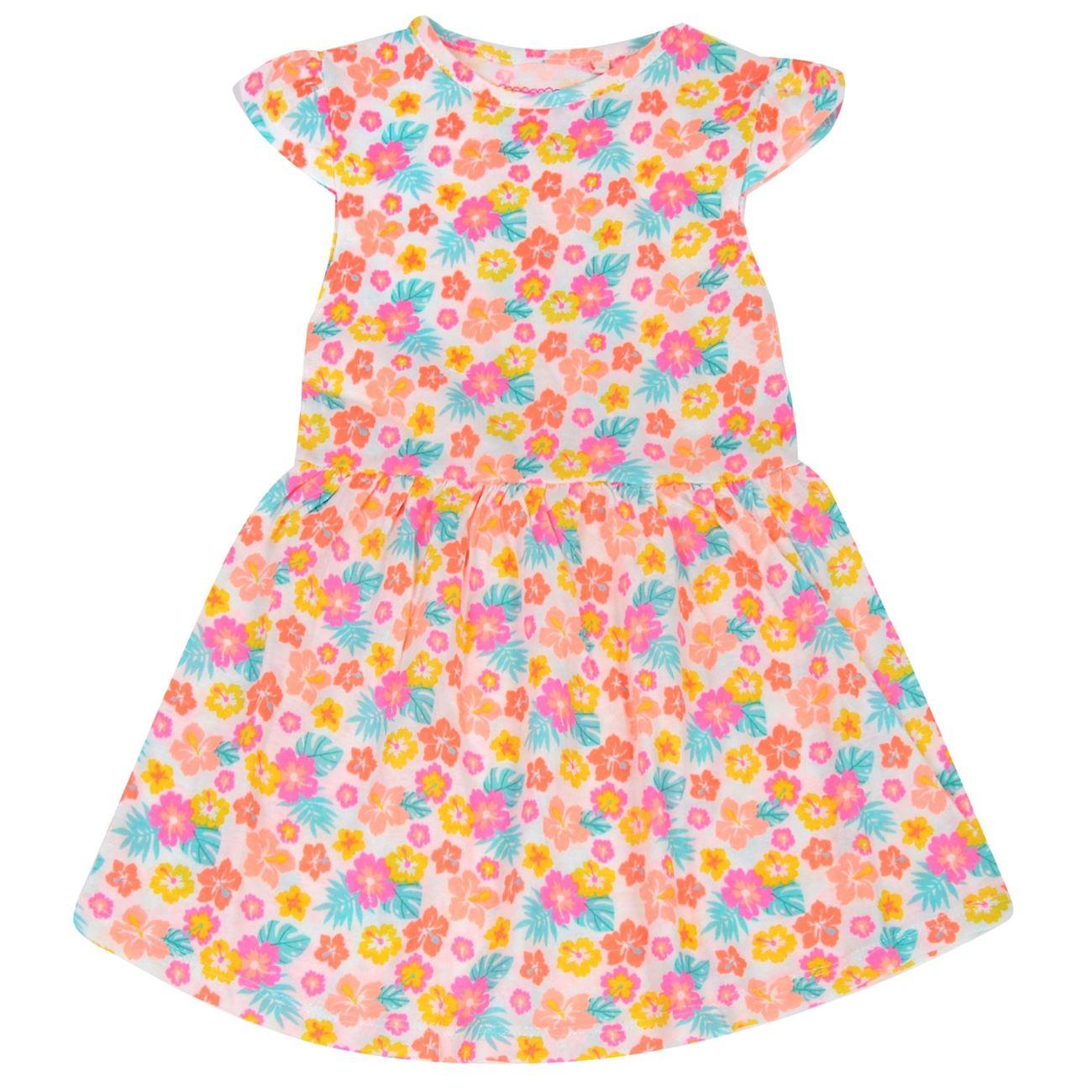 eca1d4d24a4 Φόρεμα Αμάνικο Παιδικό Λευκό Floral < Φορέματα για Κορίτσια | Jumbo