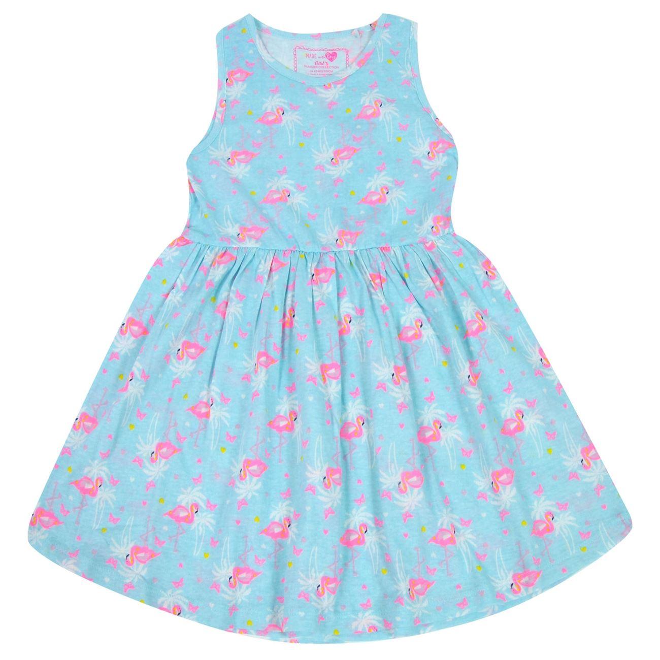 a9b8b9c8b7a0 Φόρεμα Αμάνικο Παιδικό Σιέλ Φλαμίνγκο < Φορέματα για Κορίτσια | Jumbo
