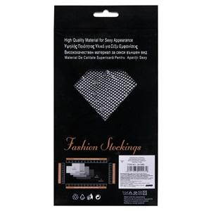 Αποκριάτικο Καλσόν Δίχτυ Μαύρο Χρωματιστές Πέτρες - One Size c9c1f28b3a2