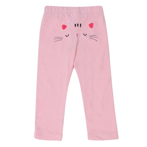 6a784e9a018 Κολάν Παιδικό Ροζ Σομόν Τύπωμα Γατούλα < Κολάν για Κορίτσια   Jumbo