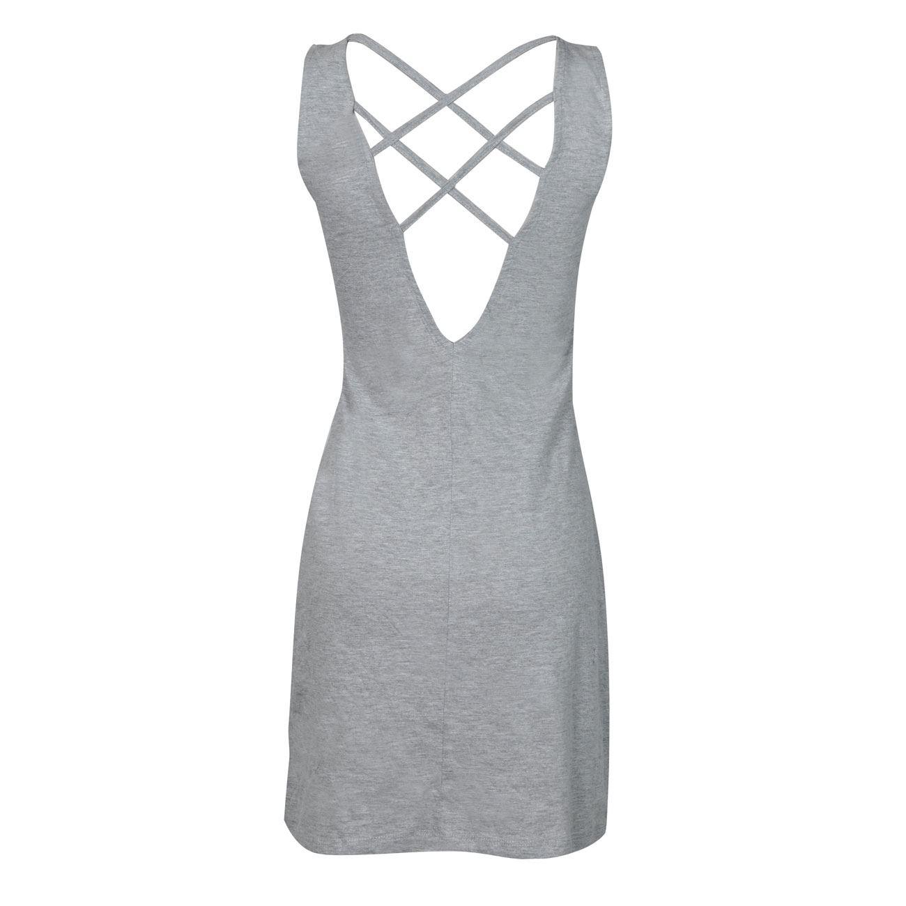1c585b8560ce Τοποθετήστε τον κέρσορα στη φωτογραφία για μεγέθυνση. Φόρεμα Γυναικείο Γκρι  Μελανζέ Χιαστί Τύπωμα - One Size  Φόρεμα Γυναικείο Γκρι Μελανζέ ...