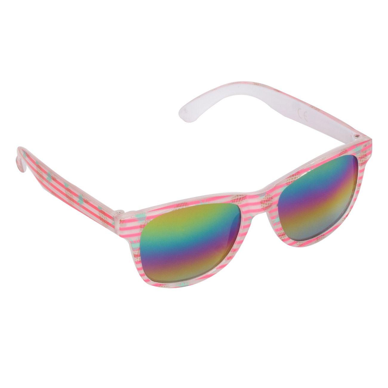 6d918ccf50 Γυαλιά Ηλίου Παιδικά Φούξια Ριγέ Καθρέφτες   Γυαλιά Ηλίου Για Κορίτσια