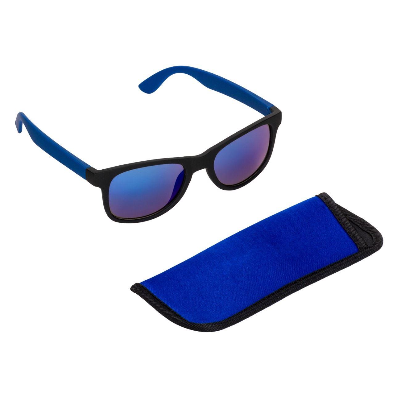 52cbba0f02 Γυαλιά Ηλίου Ανδρικά Rubber Μαύρα Καθρέφτες Μπλε   Γυαλιά Ηλίου Ενηλίκων