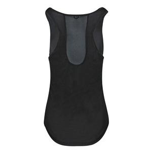 14d91baff1 Μπλούζα Fitness Γυναικεία Αμάνικη Μαύρη - One Size