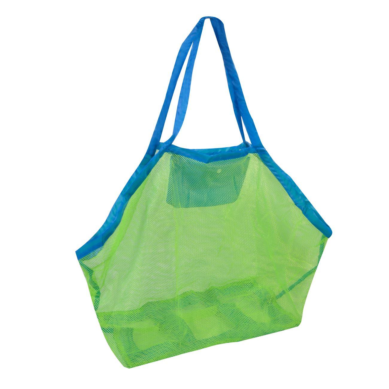 596f408092 Τσάντα με Δίχτυ Αναδιπλωμένη 45x30x45   Καλοκαιρινές Τσάντες Μεταφοράς Δίχτυ
