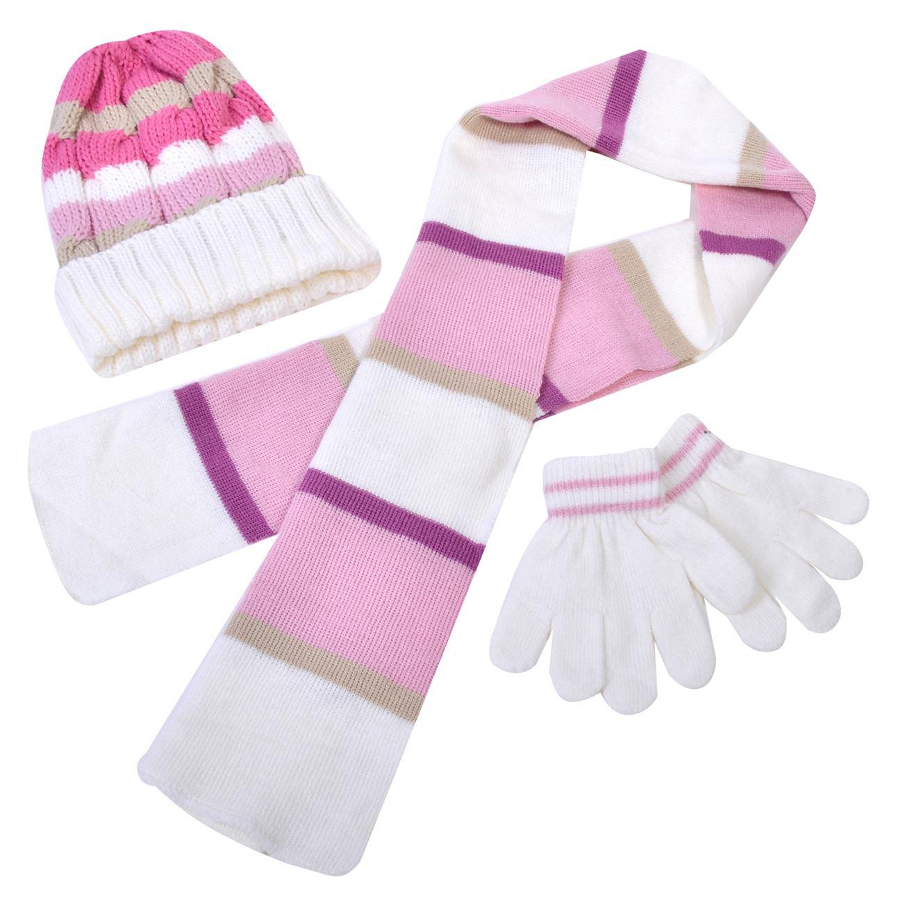 54667afb1f1 Σετ Κασκόλ Γάντια Σκούφος < Σετ Αξεσουάρ Χειμωνιάτικα για Κορίτσια ...