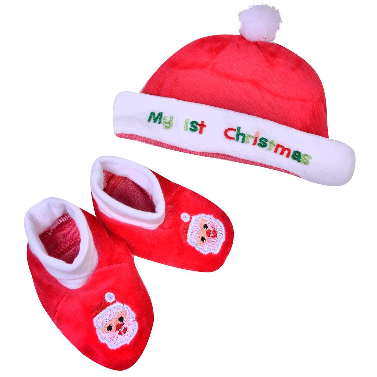 03c065dbd0c Χριστουγεννιάτικο Σκουφάκι & Παπουτσάκια < Χριστουγεννιάτικα Σκουφάκια Βebe  | Jumbo