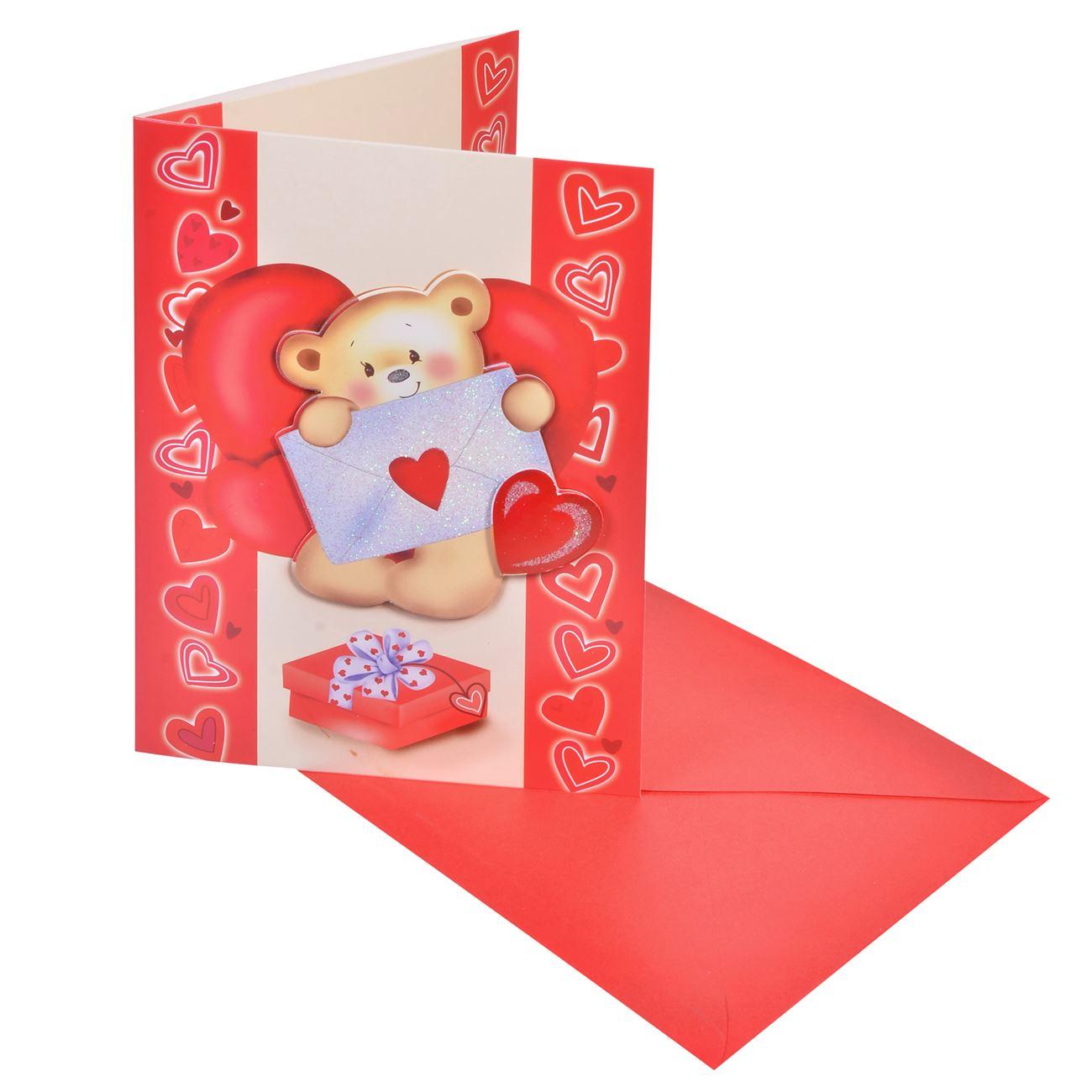 b0307301f32b Κάρτα 3D Βαλεντίνου 14x20   Κάρτες Ευχετήριες Βαλεντίνου