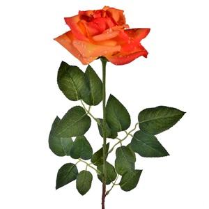 Trandafiri portocalii / galbeni 80 cm.