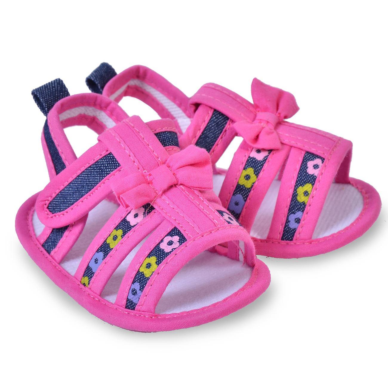 c88333f25b6 Πέδιλα Καλοκαιρινά Βρεφικά Κορίτσι · Βρεφικά Παπούτσια Φούξια Φιόγκος