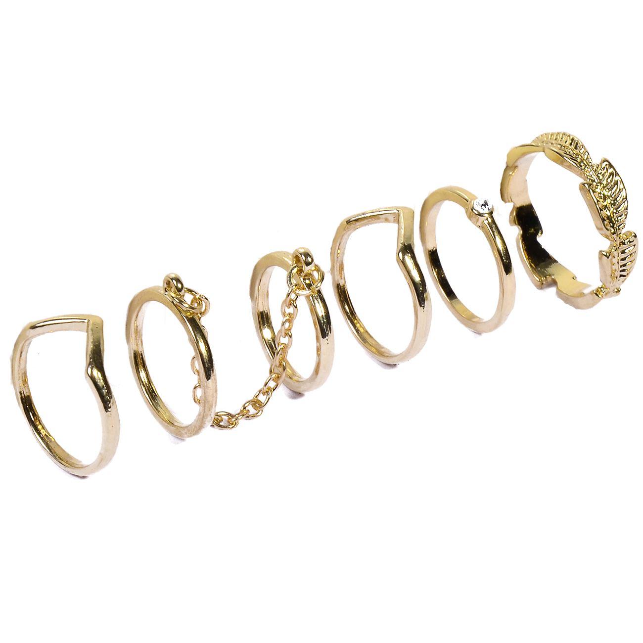 Δαχτυλίδι Γυναικείο - 6 τμχ.   Δαχτυλίδια  66a987725e0